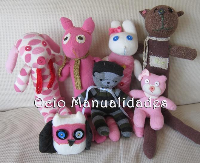 muñecos de tela